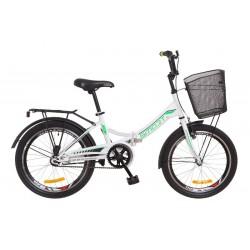"""Складной велосипед 20"""" Formula SMART рама 13 дюймов с корзиной"""