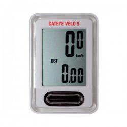 Велокомпютер CatEye VELO 9, CC-VL820, белый