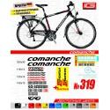 Наклейки на велосипед Comanche