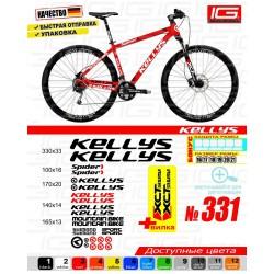 Наклейки на велосипед Kellys