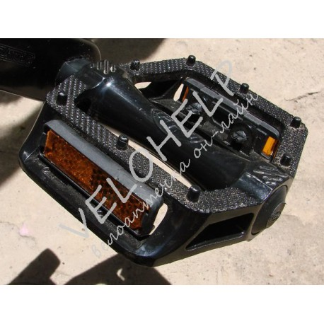 Педали FPD черные алюминиевые